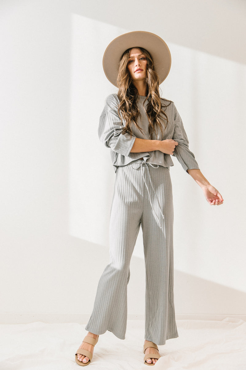 +Keepin' It Casual Grey Set - Luca + Grae
