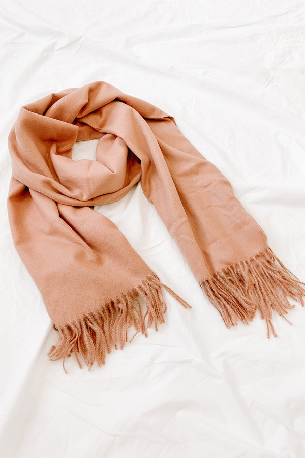 Read My Mind Blush Scarf - Luca + Grae