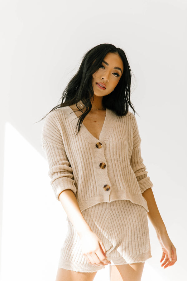 South Wales Tan Sweater Set - Luca + Grae