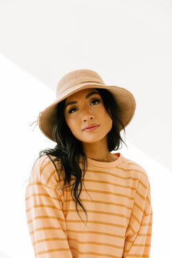 Before You Go Camel Bucket Hat - Luca + Grae