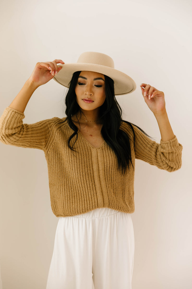 Queensland Cinch Sweater - Luca + Grae