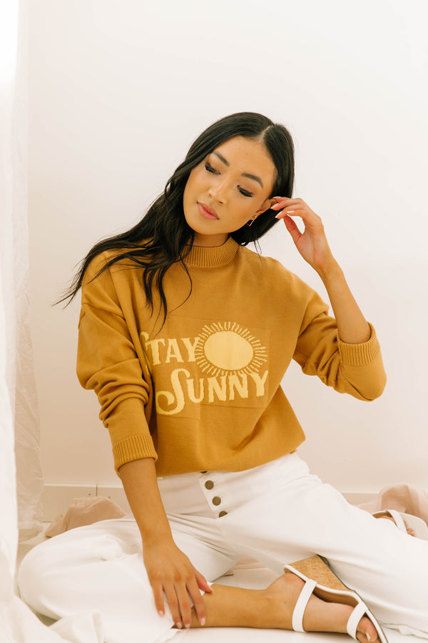 Stay Sunny Pullover - Luca + Grae
