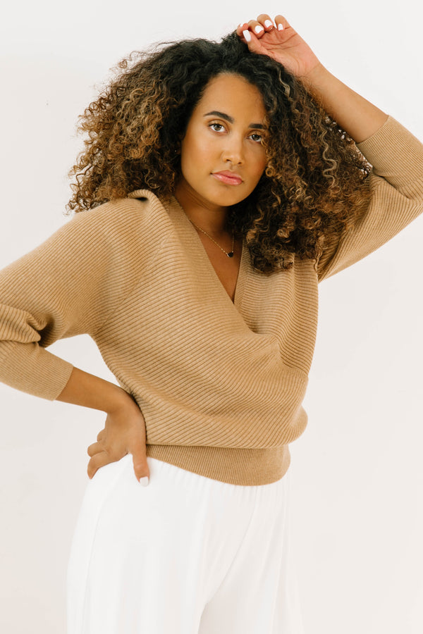 *Central Park Wrap Sweater - Luca + Grae