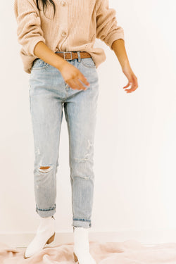 Blue Harbor Distressed Jeans - Luca + Grae