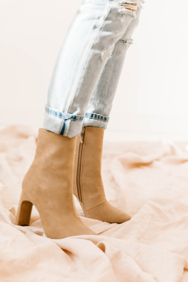 Drama Queen Ankle Booties - Luca + Grae