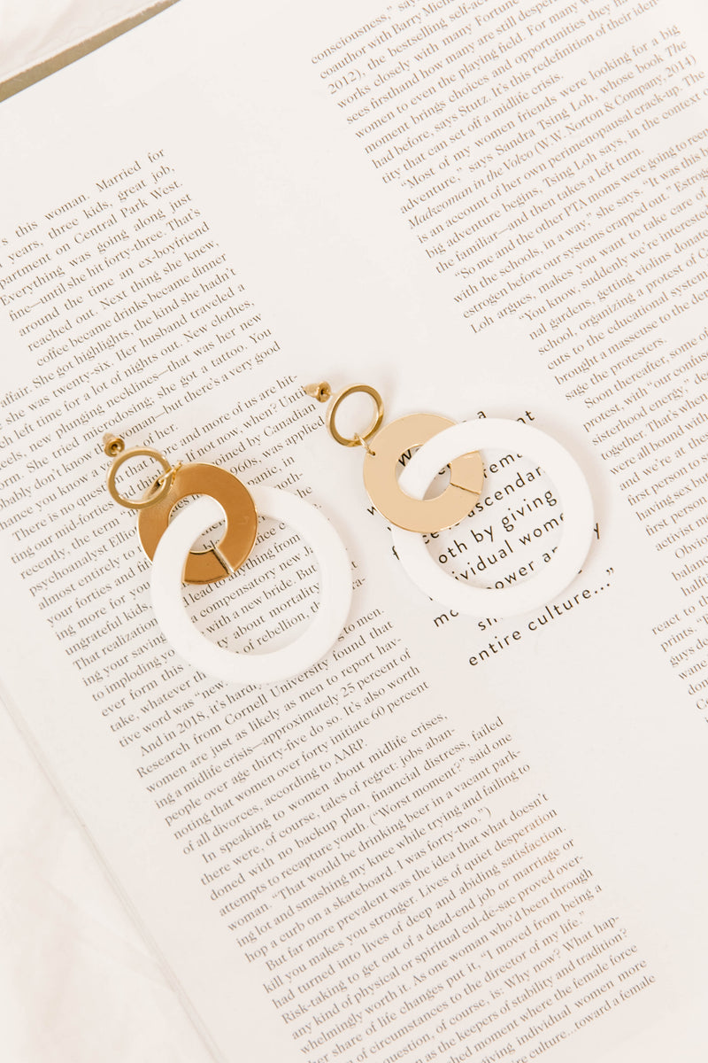 Epiphany Intertwined Hoops - Luca + Grae