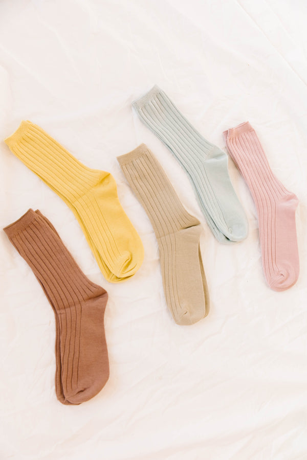 Beverly Blush Socks - Luca + Grae