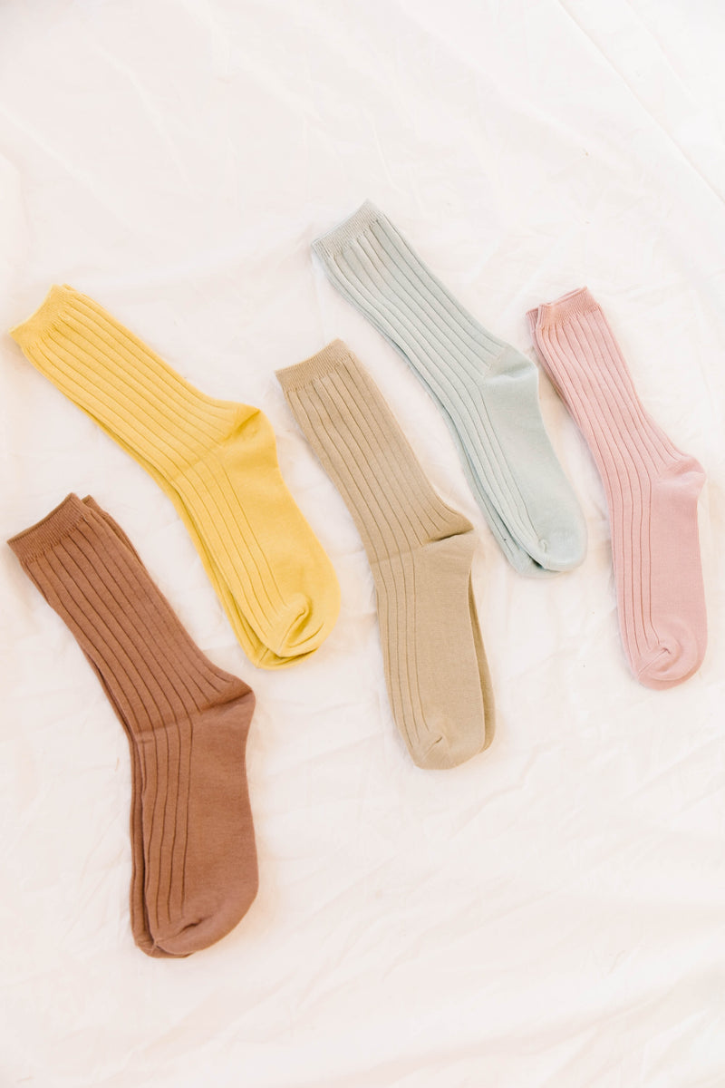 Beverly Gold Socks - Luca + Grae
