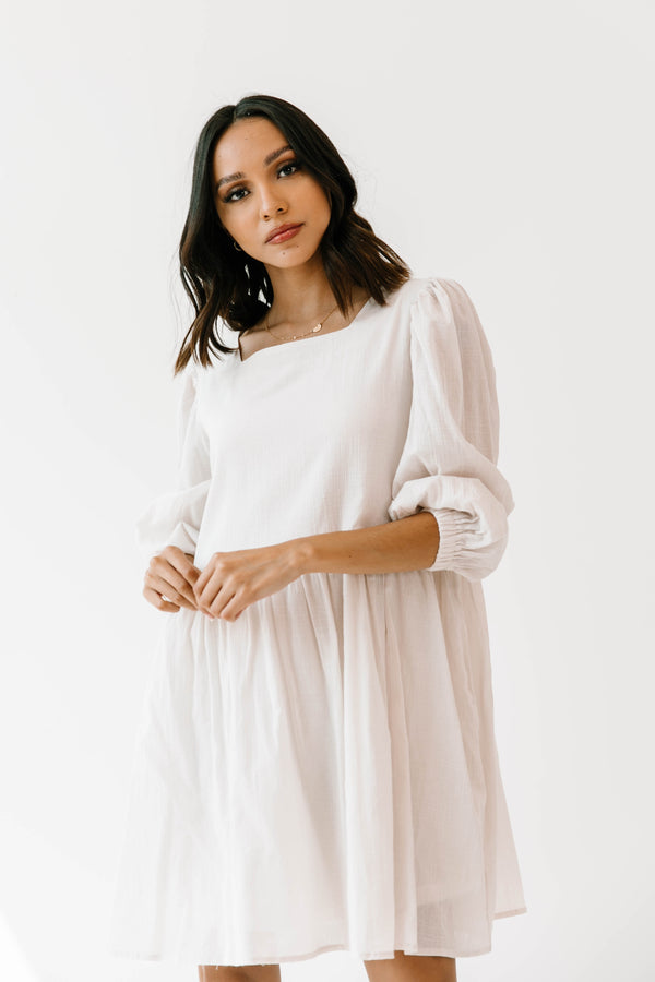 Pure Potential Ivory Dress - Luca + Grae