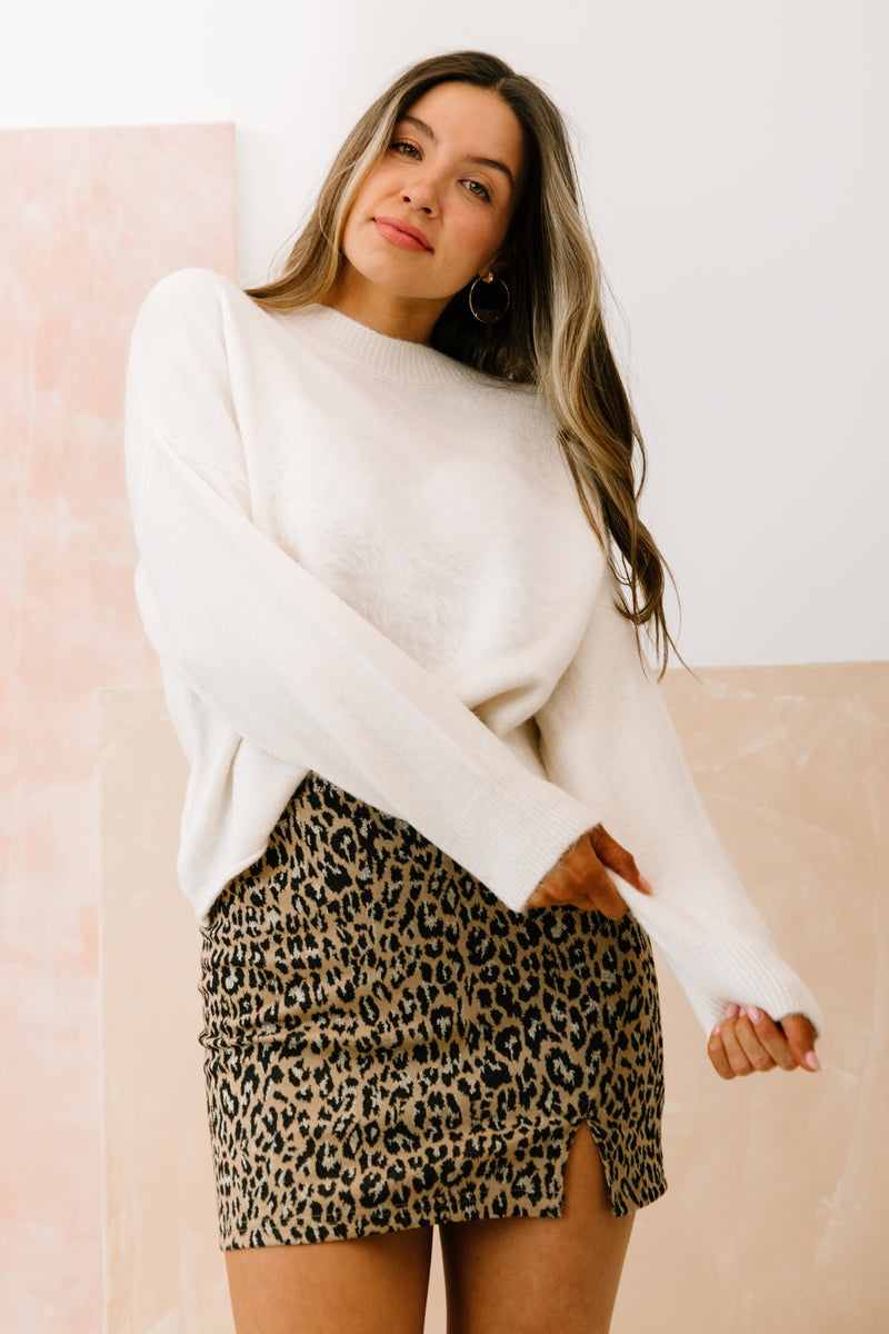Soulmate Ivory Sweater - Luca + Grae