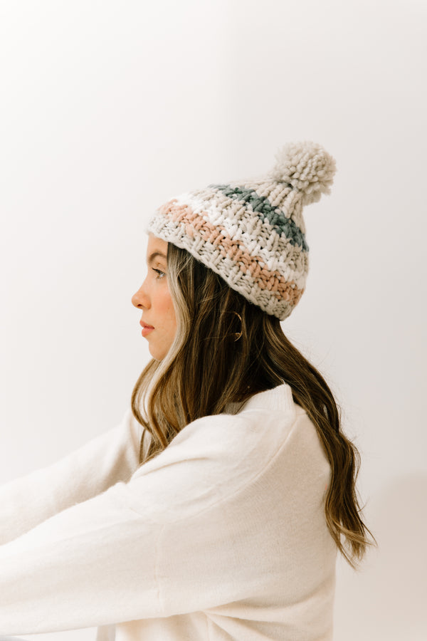 Nora Color Block Beanie - Luca + Grae