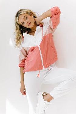 Summer Breeze Coral Jacket - Luca + Grae