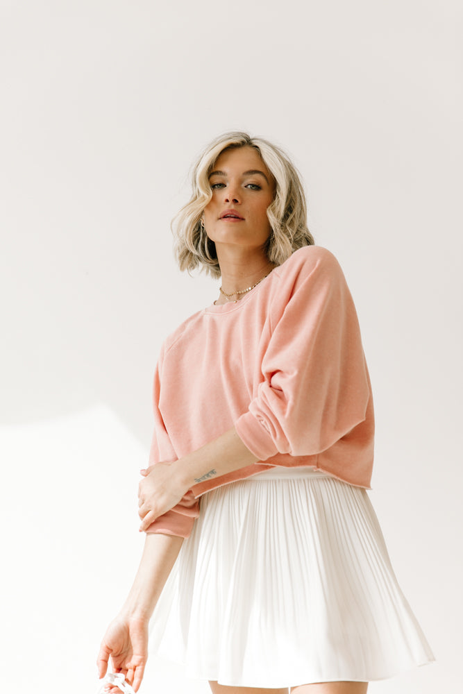 Countdown Pink Pullover - Luca + Grae
