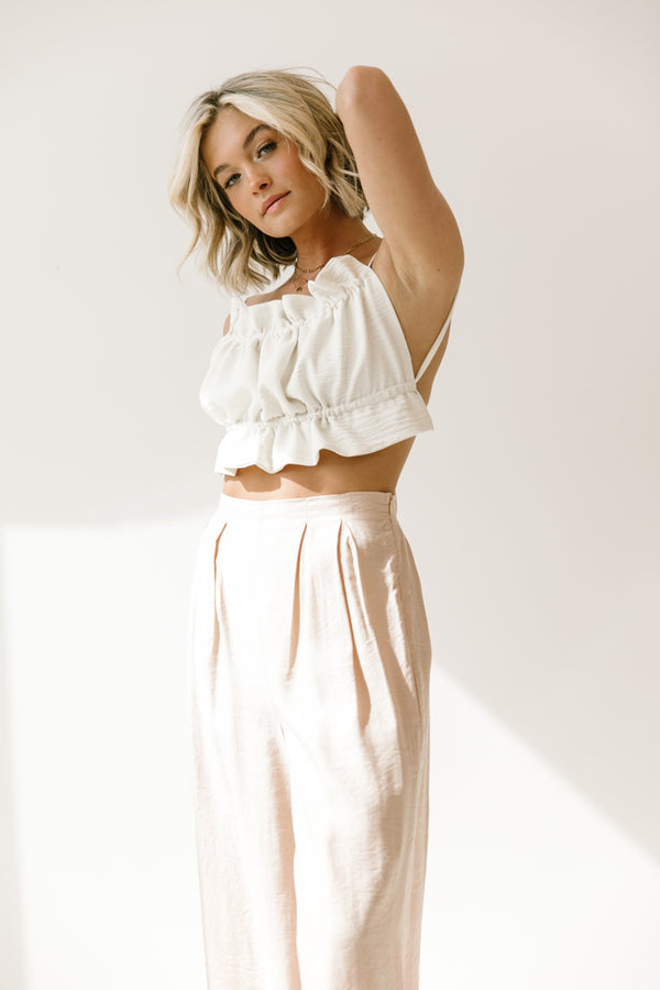Honeymoon Backless Tie Top - Luca + Grae