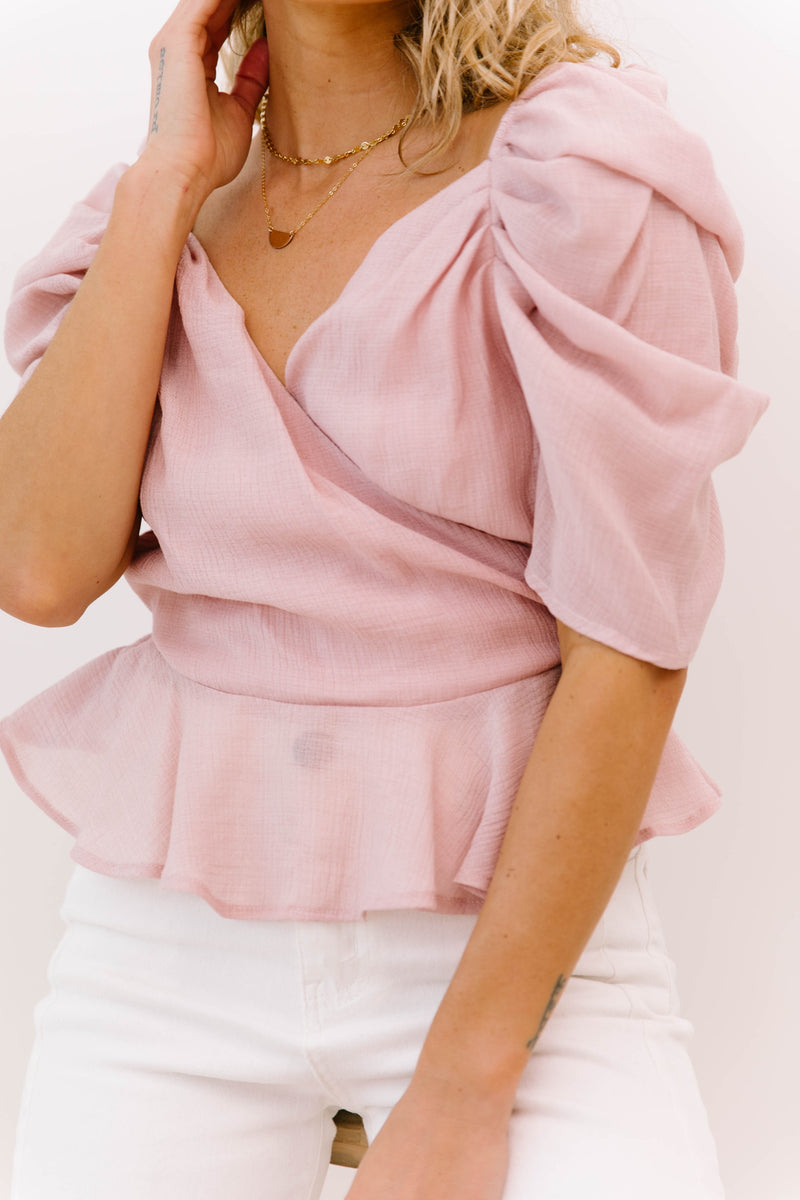 Switching Sides Blush Top - Luca + Grae