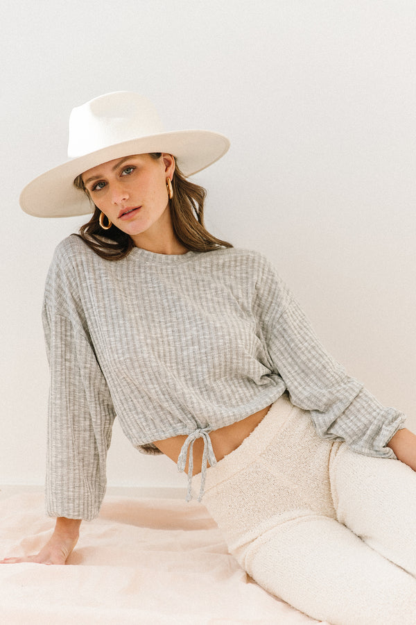 Down The Line Cropped Top - Luca + Grae