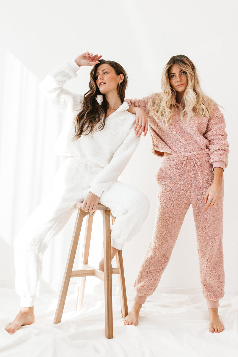 Bundled Up White Set - Luca + Grae