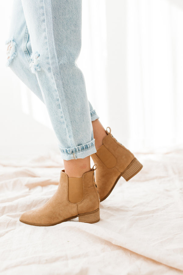 Norway Camel Booties - Luca + Grae