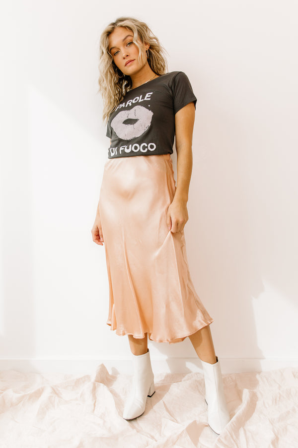 Heartland Peach Skirt - Luca + Grae