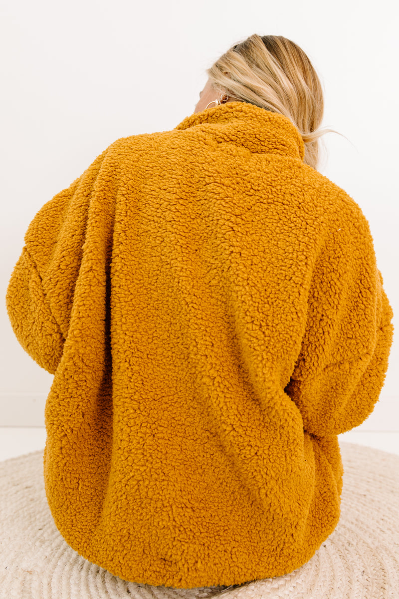 Game Of Love Mustard Jacket - Luca + Grae