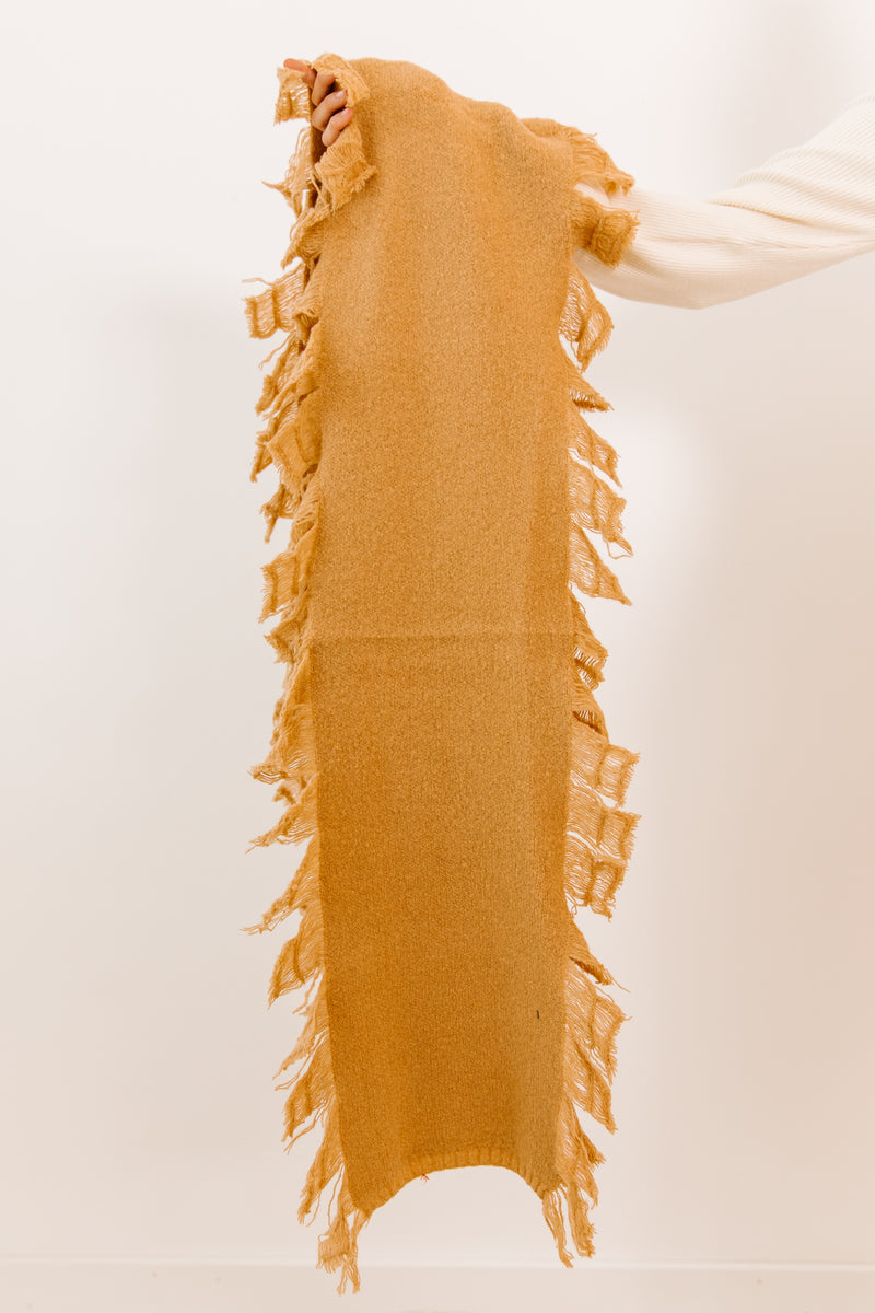 One I Want Camel Scarf - Luca + Grae