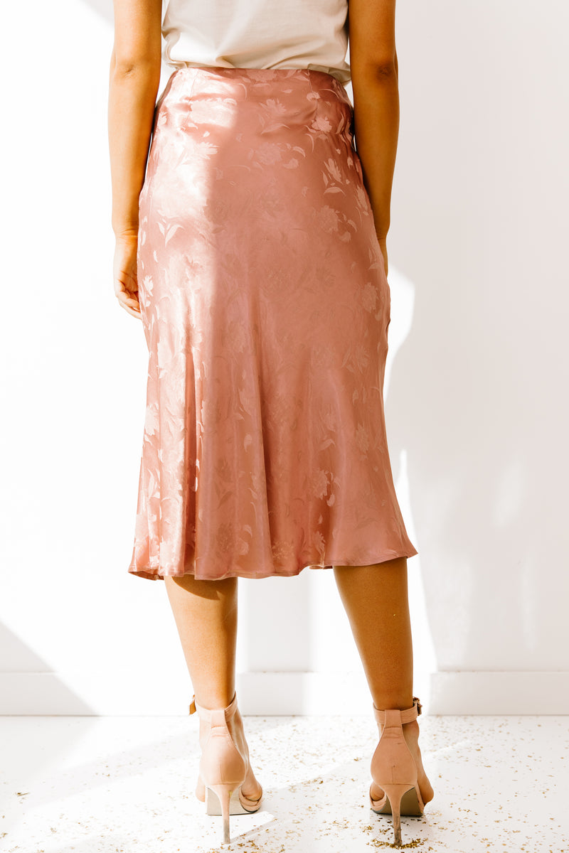 Street Lights Rose Skirt - Luca + Grae