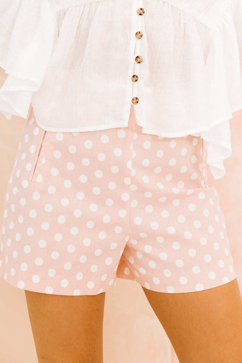 Belong Together Blush Shorts - Luca + Grae