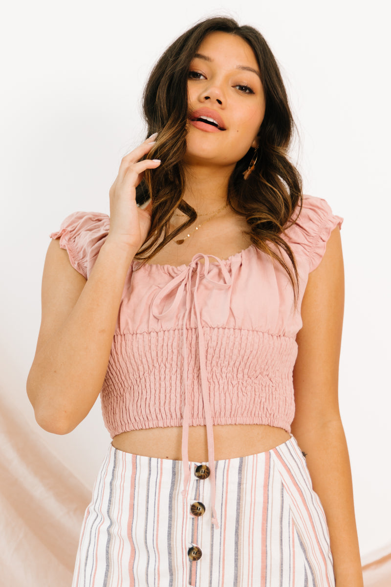 Mayberry Crop Top - Luca + Grae