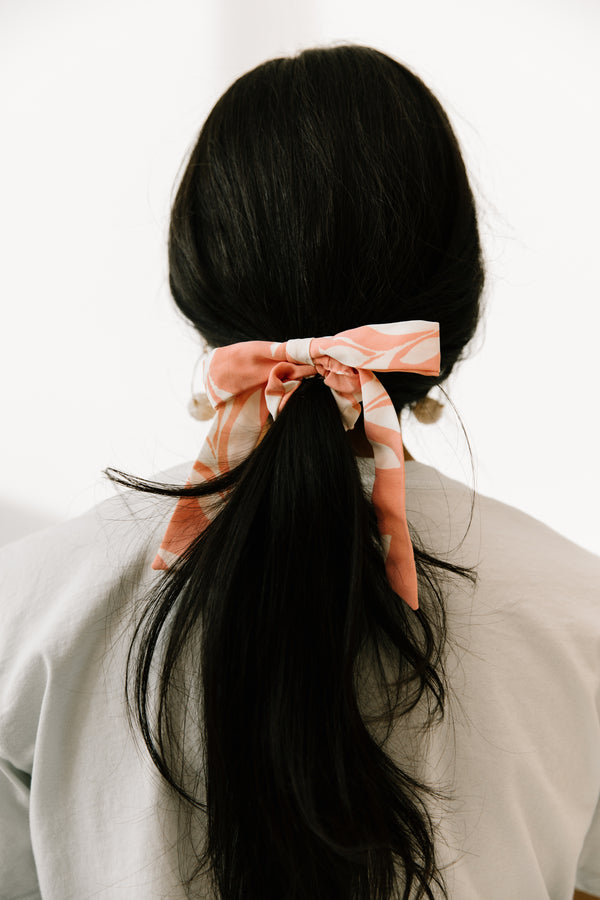 Clear Your Head Pink Scrunchie - Luca + Grae