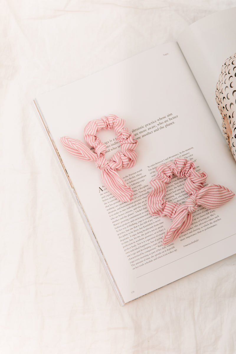 All Along Pink Scrunchies - Luca + Grae