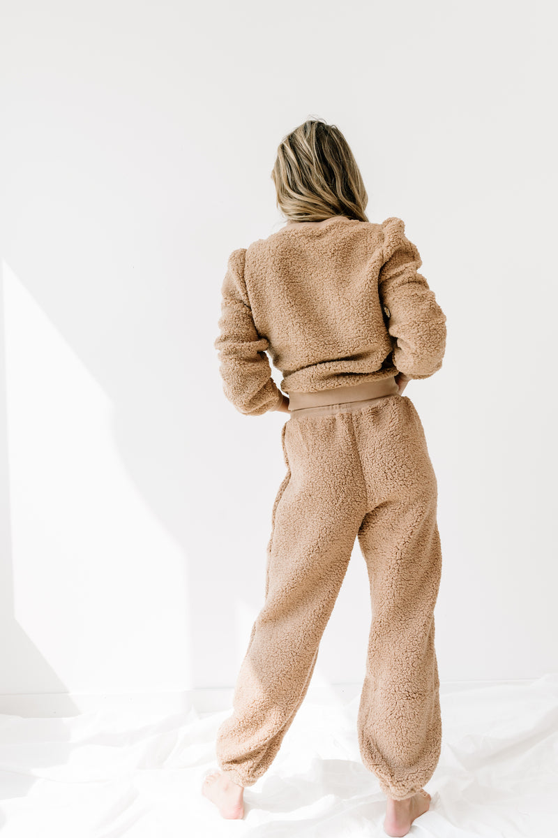 Cozy As Can Be Tan Set - Luca + Grae