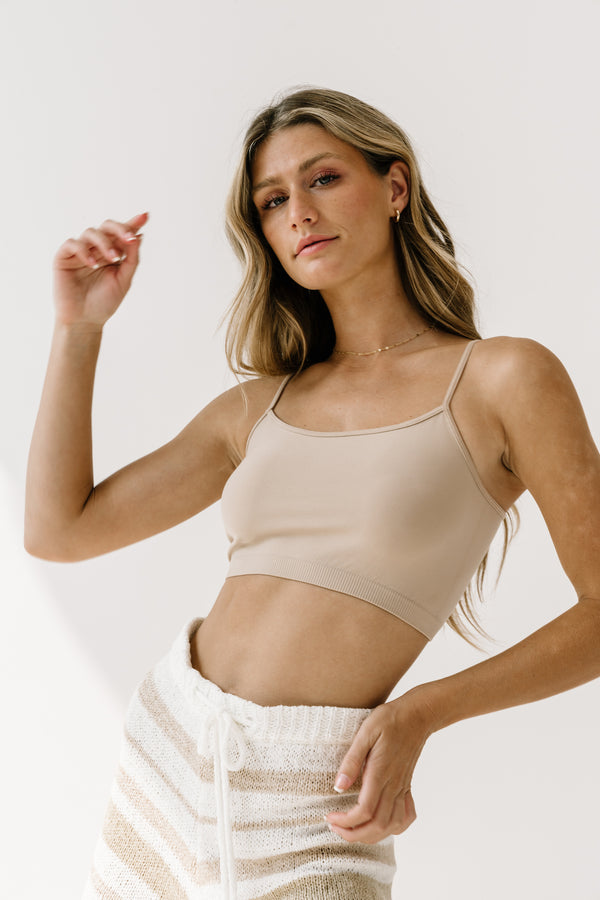 Be Gentle Beige Bralette