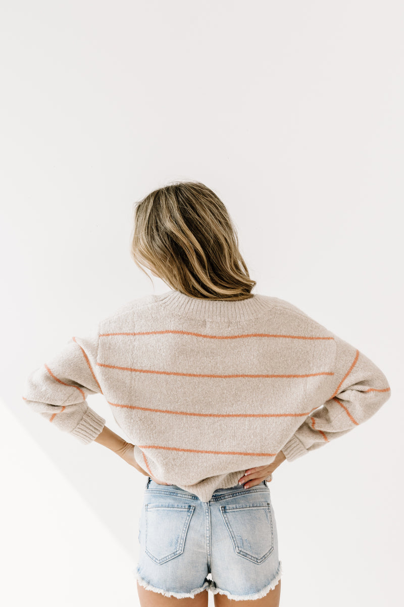 Better Days Striped Sweater - Luca + Grae