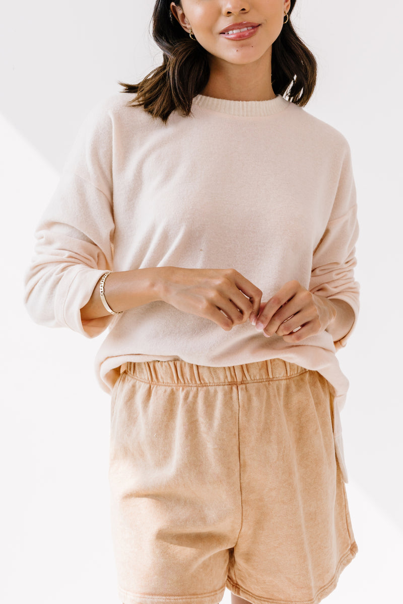 Just Peachy Lounge Shorts - Luca + Grae