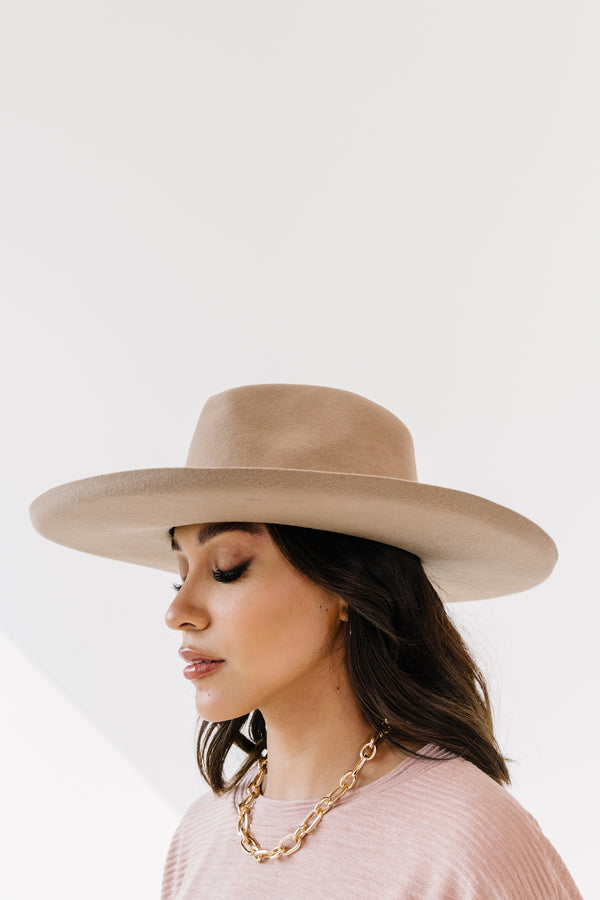 Aries Brown Panama Hat - Luca + Grae