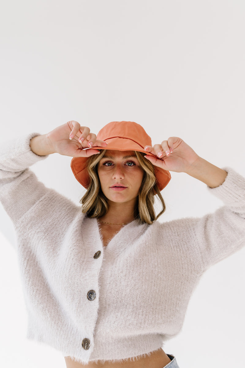 Nature Lover Coral Bucket Hat - Luca + Grae