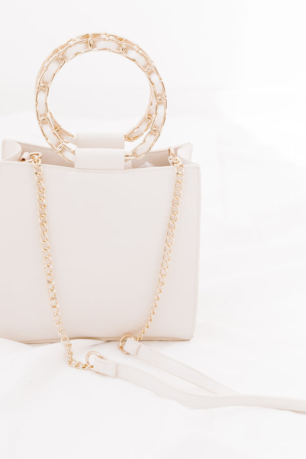 Cream Rising Handbag - Luca + Grae
