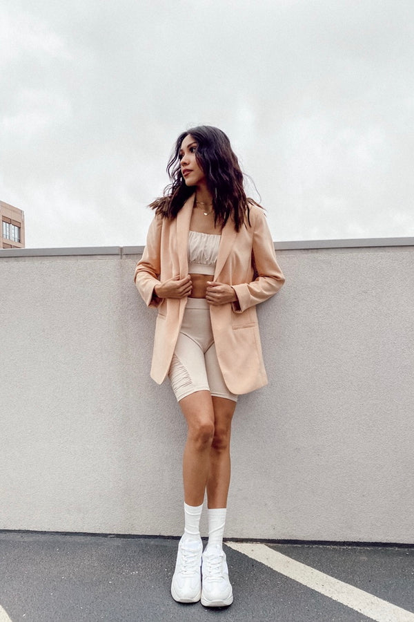 Sweet As A Peach Blazer - Luca + Grae