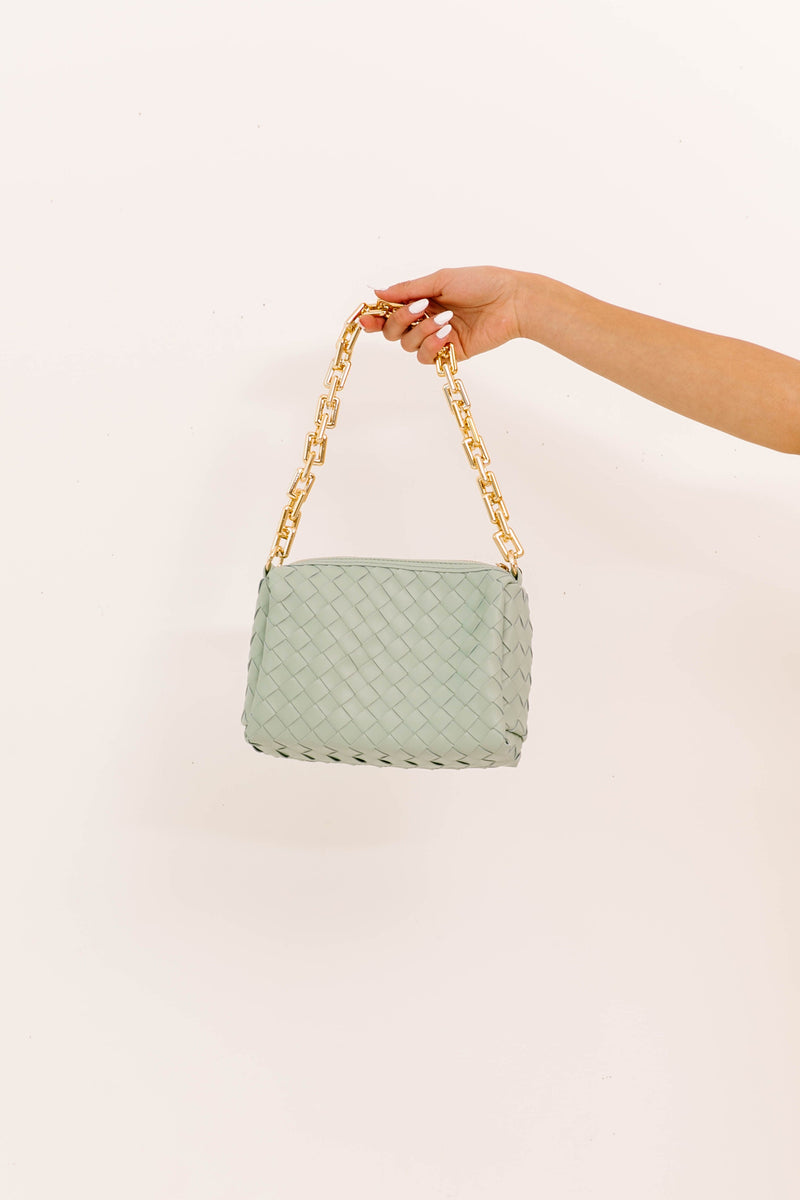 High Society Mint Handbag - Luca + Grae