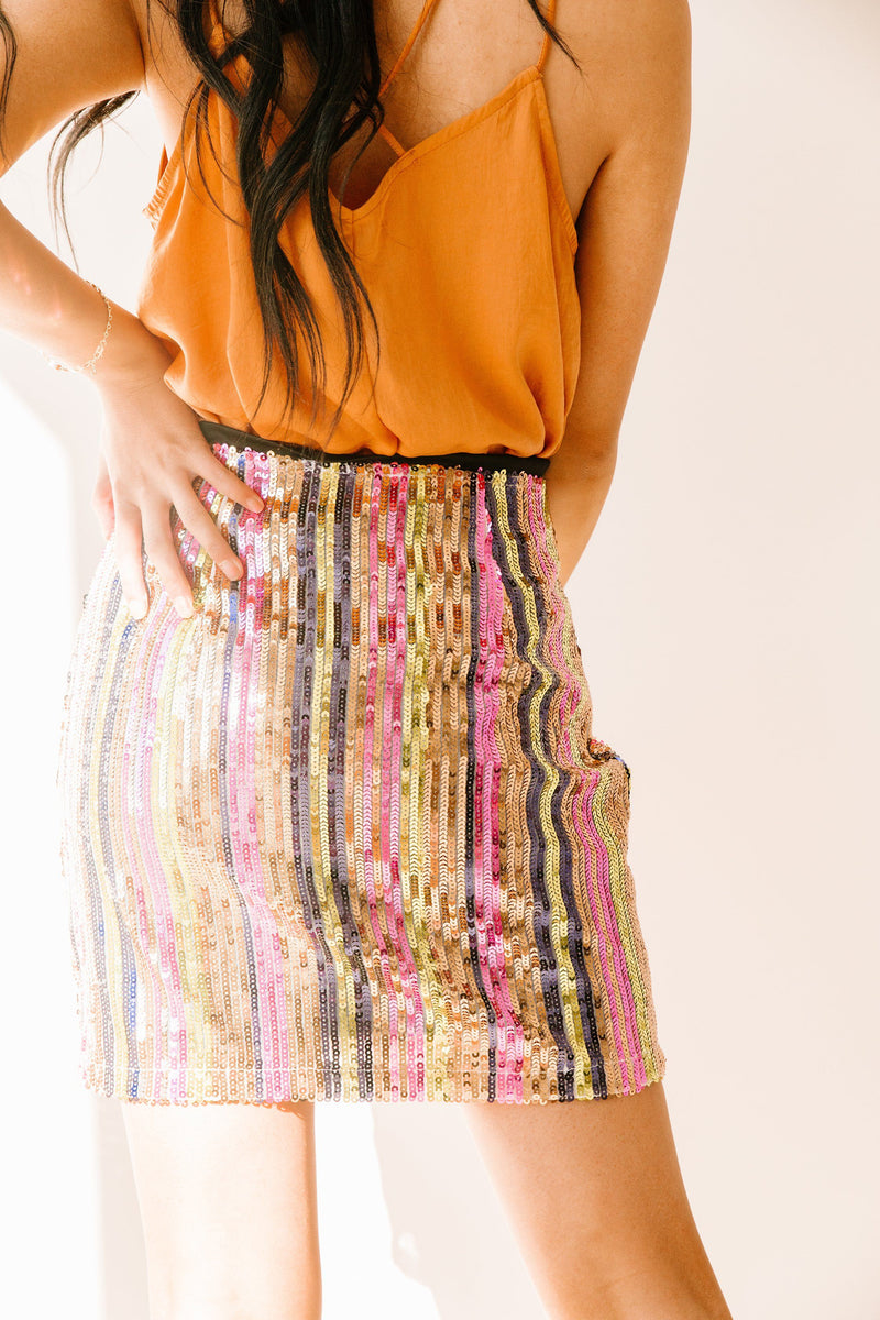 True Colors Mini Skirt - Luca + Grae