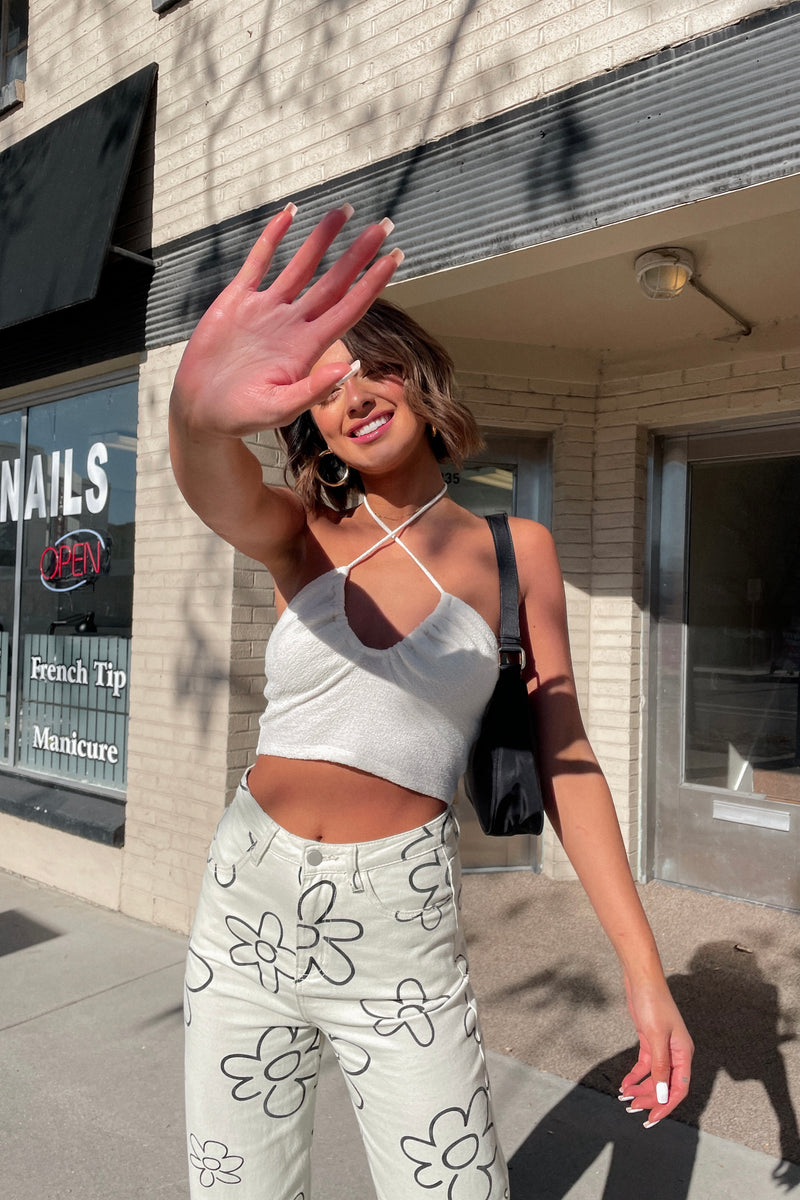 Paradise Baby Pink Pullover - Luca + Grae