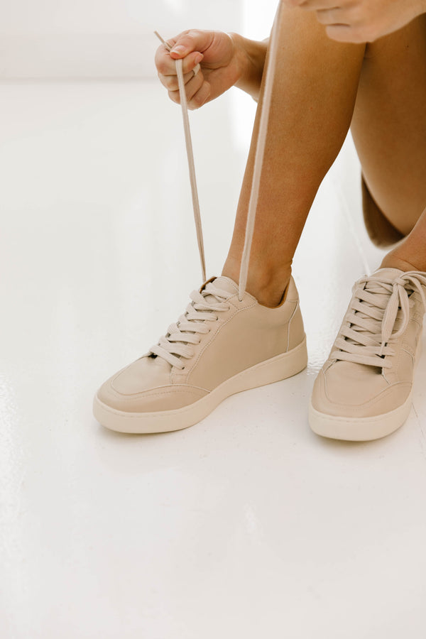 Rainberry Beige Sneakers - Luca + Grae