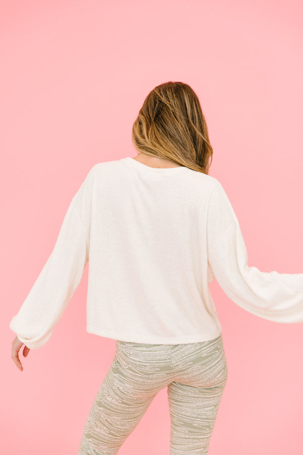 On My Mind Blush Top - Luca + Grae
