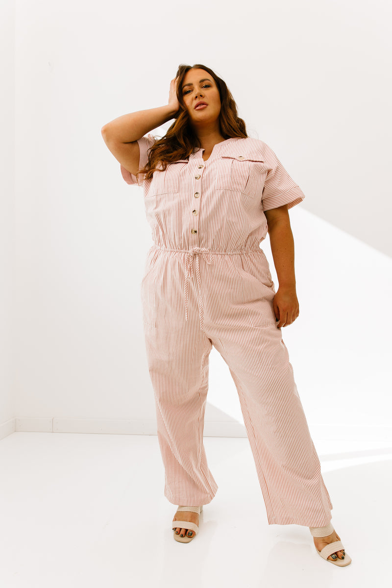 Curvy In A Rush Jumpsuit - Luca + Grae