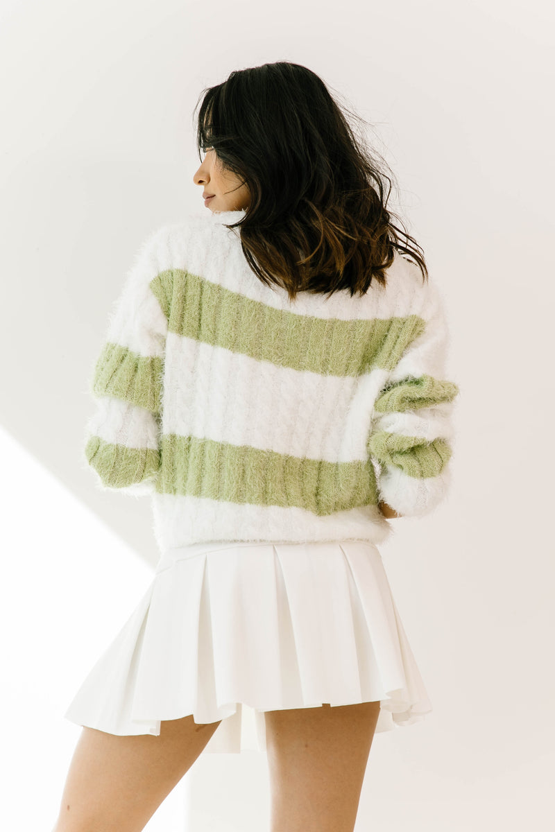Draw The Line Striped Sweater - Luca + Grae