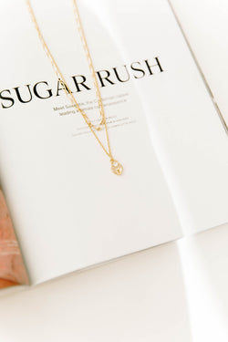 Key To My Heart Necklace - Luca + Grae