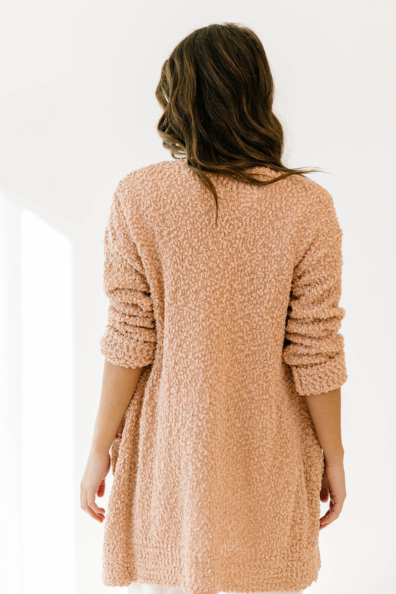 What We Had Peach Cardigan - Luca + Grae