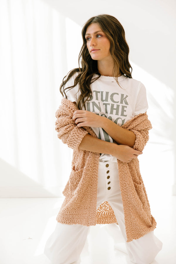 What We Had Blush Cardigan - Luca + Grae