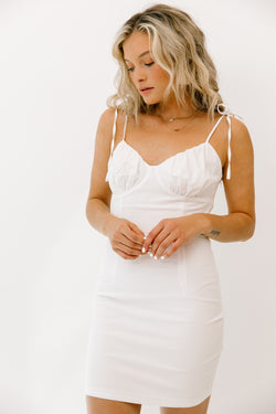 Breakaway White Dress - Luca + Grae