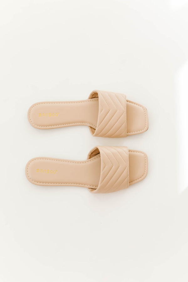 Love Story Quilted Slides - Luca + Grae